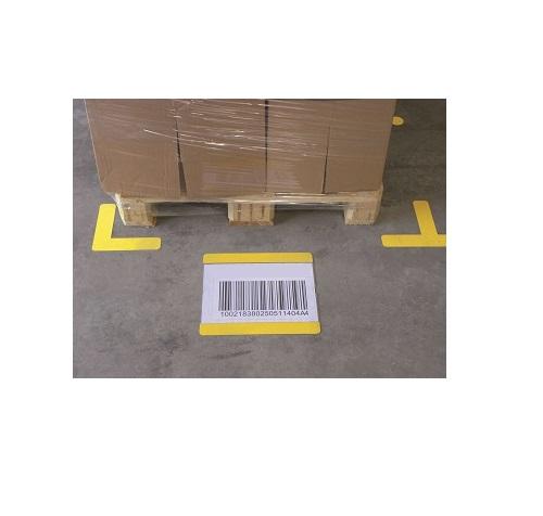 vloermarkering,locatie markering,locatie markering pallets,locatie aanduiding pallets,M-Rack Magazijnoplossingen